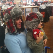 Yeah, not really winter at Walmart